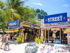Walking Street West Railay Beach Krabi Thailand