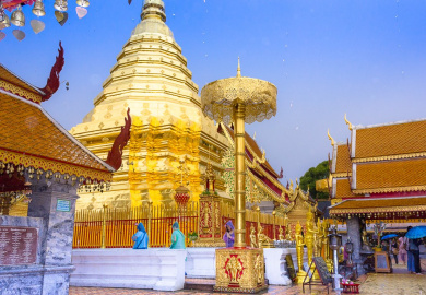Chiang Mai Temple Wat Phra That