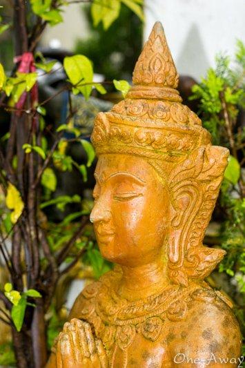 Garden Statue Wat Phra That Doi Suthep Chiang Mai Thailand