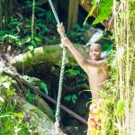 Rope Swing - YS Falls Jamaica