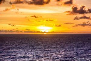 Sunset Uluwatu Bali Indonesia