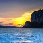 Sunset West Railay Beach-Krabi