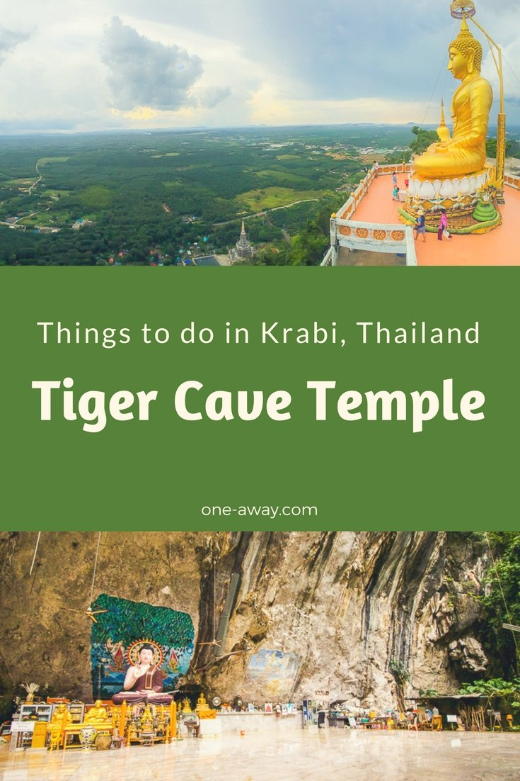 Things to do in Krabi Thailand - Tiger Cave Temple